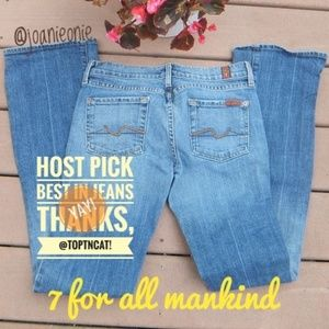 7 FOR ALL MANKIND Lexie Bootcut Jeans Size 26